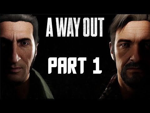 A Way Out Walkthrough Gameplay Part 1 - FULL GAME CO-OP! (PS4 Pro Gameplay)