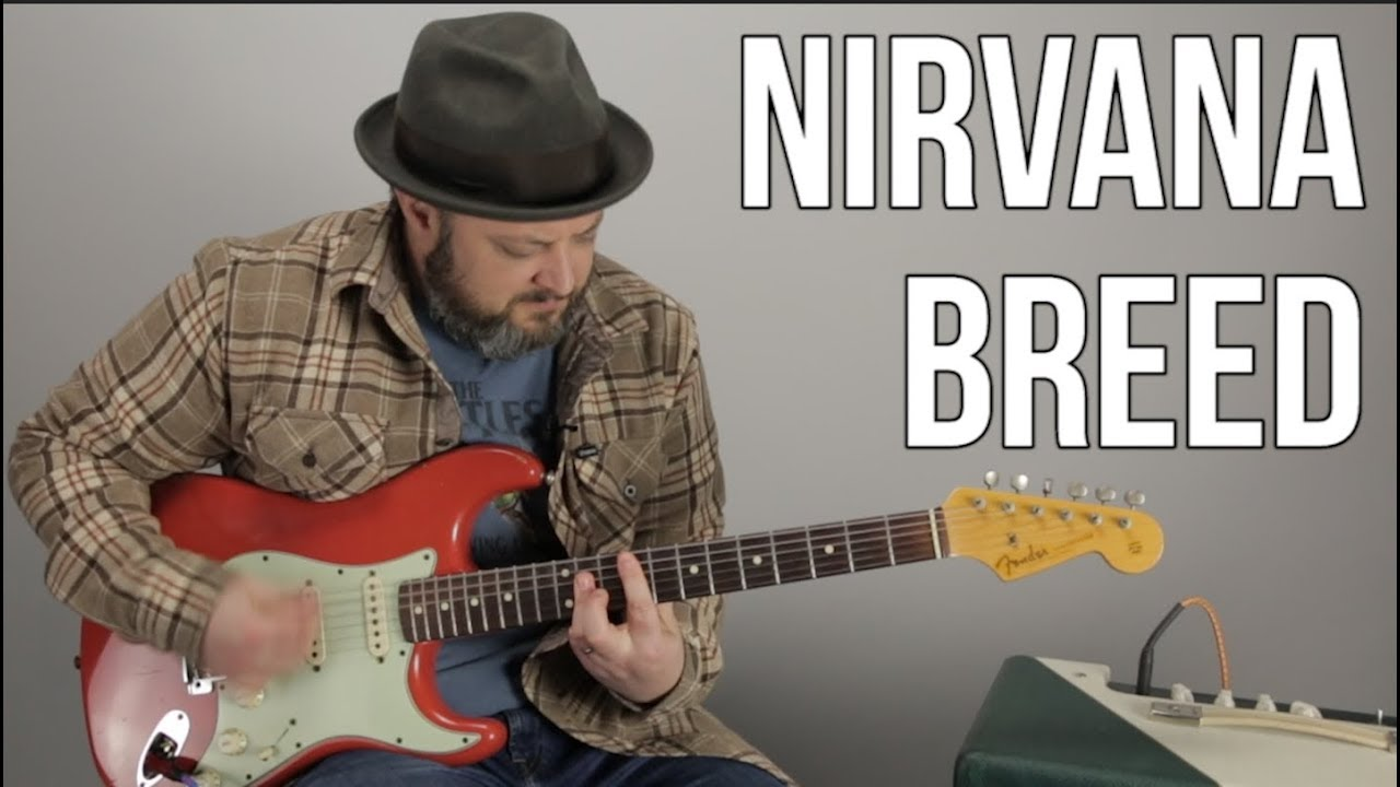 """Download How to Play """"Breed"""" By Nirvana on Guitar"""
