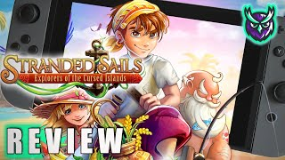 Stranded Sails Nintendo Switch Review-Stardew Valley, Harvest Moon & Zelda? (Video Game Video Review)