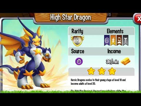 Dragon City - High Star Dragon   New Heroic Dragon [First Look]