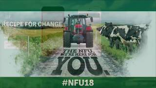 Watch again NFU Conference 2018 day one Tuesday 20 February 2018