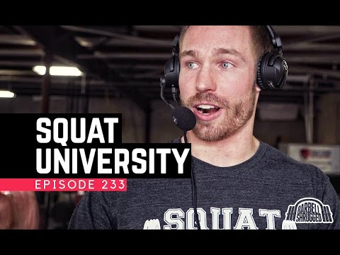 Squat Injuries, Fixes & Myths w/ Dr. Aaron Horschig of Squat University - 233