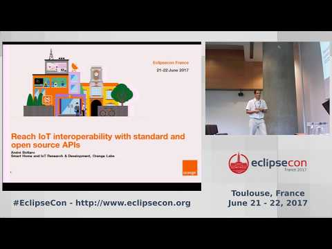Reach IoT interoperability with standard and open source APIs, by Andre Bottaro