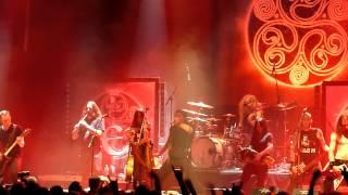 Eluveitie - Uxellodunon - live @ Paganfest in Z7, Pratteln 20.3.2012