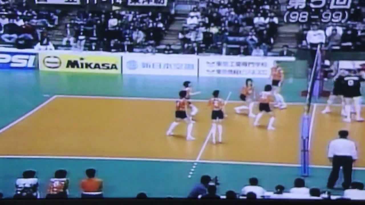 第5回V league 決賽 東洋紡 日立...