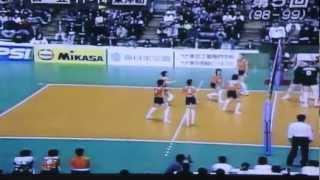 第5回V league 決賽 東洋紡 日立
