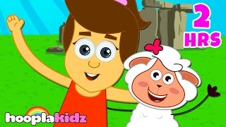 Mary Had A Little Lamb | Part 3 | Songs for Babies by HooplaKidz| 2 Hrs+