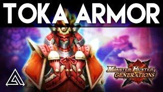 Monster Hunter Generations | How to Unlock the Toka Armor Set