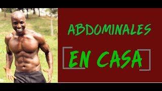 RUTINA DE ABDOMINALES EN CASA