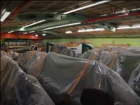 SAAB airplane factory documentary