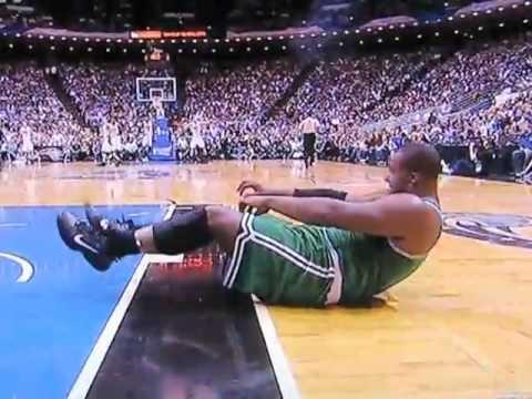 """Glen""""BigBaby"""" Davis Knocked Out Celtics Magic Game5."""