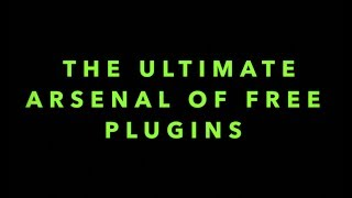 Episode 4: The Ultimate Arsenal of Free Plugins (Mix and Mastering Tutorial using 26 FREE VSTs)