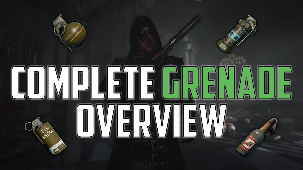 Pubg Guide Complete Grenade Overview Youtube