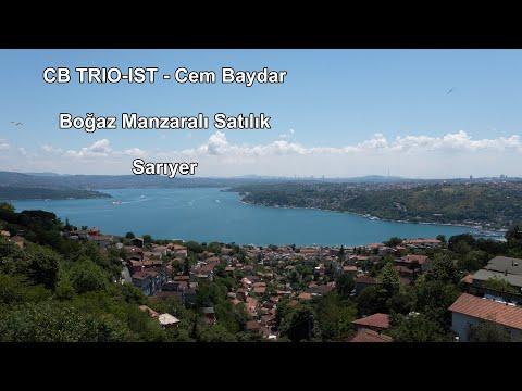 CB TRIO-IST - Cem BAYDAR - Boğaz Manzaralı Satılık - SARIYER