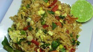 Bariis iyo Ukun aad oo Fudud (Stir fry Egg and Rice) - Ep. 85