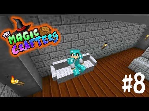 AVANCES EN CASA!! - THE MAGIC CRAFTERS EP.#8 - MINECRAFT SERIE MODS 1.7.10