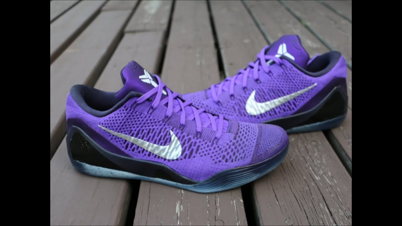 ff6386ab5e5d Nike Kobe 9 Elite Low Moonwalker - Detailed Review - YouTube