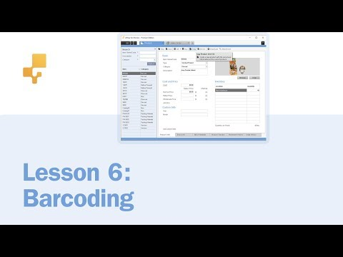 Lesson 6: Barcoding | inFlow On-Premise