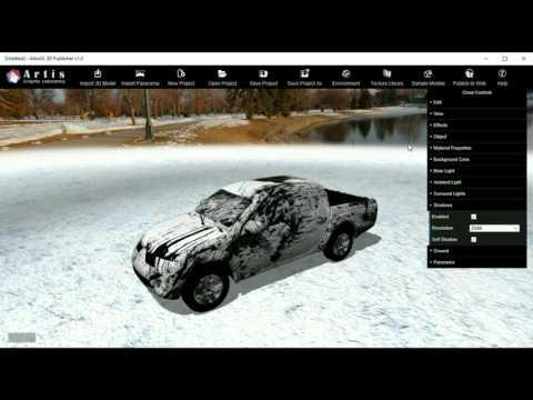 ArtisGL 3D Publisher: Trailer
