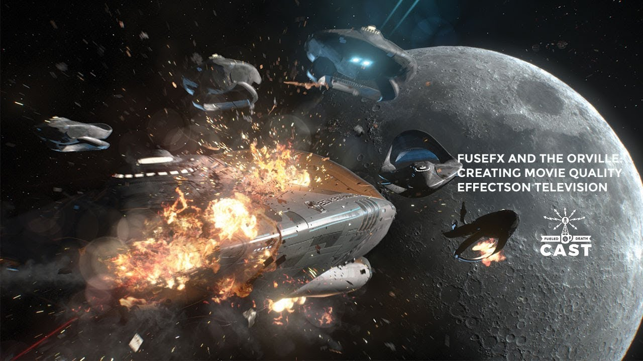 Download The Orville and FuseFX - movie quality visual effects on TV