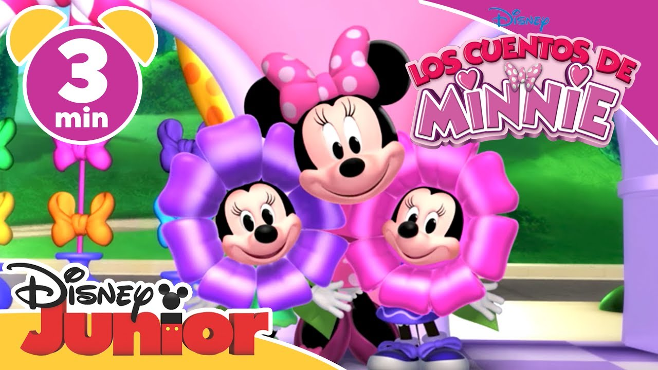 los cuentos de minnie arreglo floral disney junior oficial clip fail. Black Bedroom Furniture Sets. Home Design Ideas