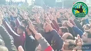 الجزائر.. شارات النصر بساحات الاحتجاج