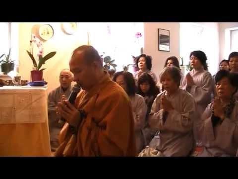 Đại Đức Thích Trí Huệ - Hướng Dẩn Khai Chuông Mõ - Ngồi Thiền 1/2