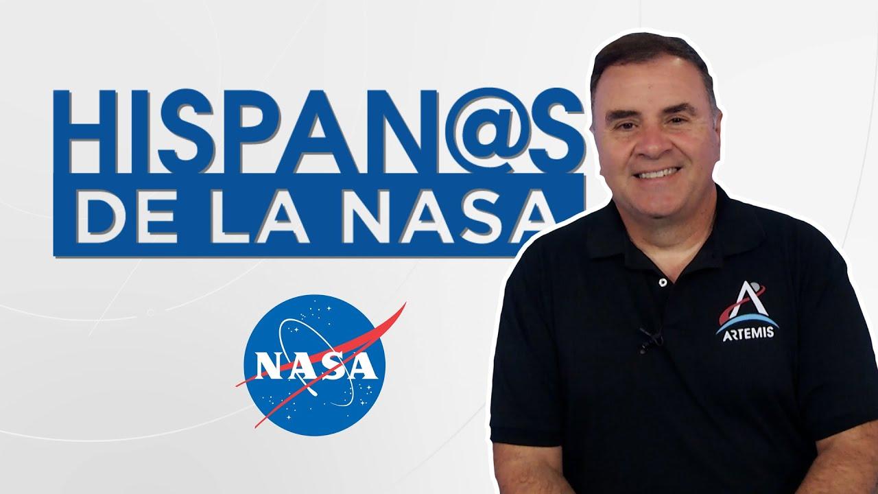 Hispan@s de la NASA - Pablo de León