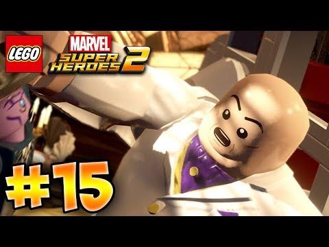 LEGO MARVEL SUPER HEROES 2 GAMEPLAY PART 15 100% DEUTSCH - KINGPIN | EGoWhity
