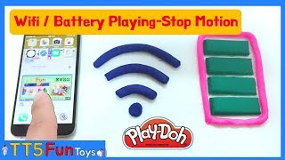 Stop Motion-Play Doh Wifi/Battery