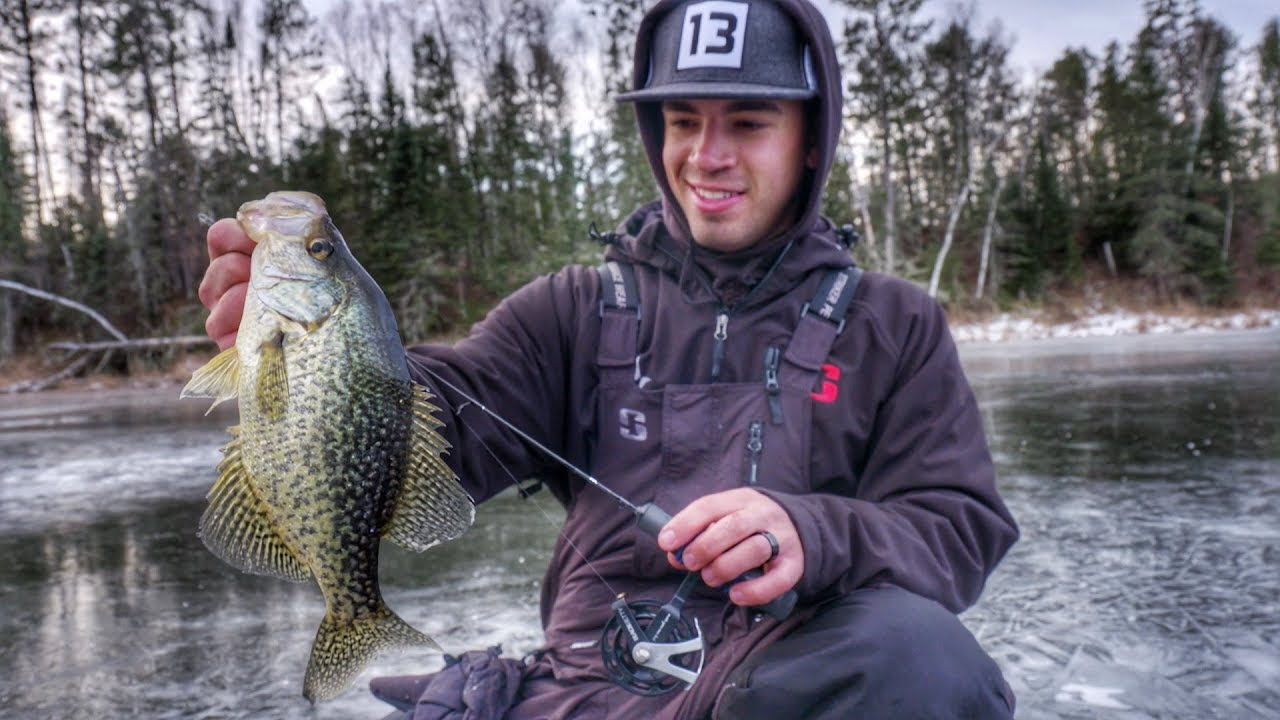 Find And Catch Panfish On Small Lakes Ponds Ice Fishing