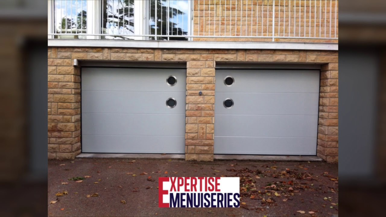 Porte de garage d'Expertise Menuiseries