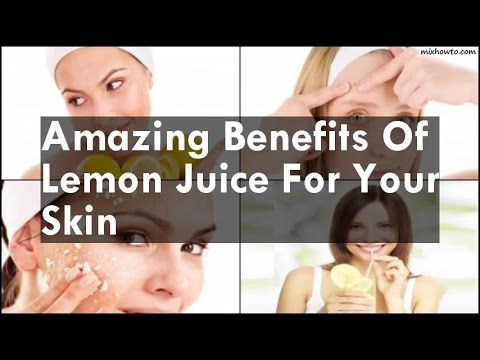 Benefits Of Lemon Juice For Your Skin