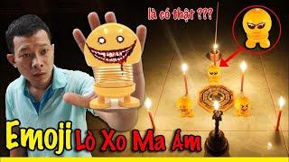 Phim Ngắn: Emoji Lò Xo bị MA ÁM là Có Thật ?? ( Haunted Emoji is REAL ??? )
