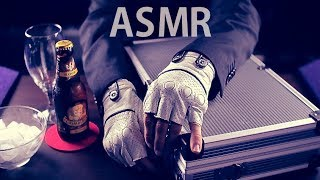 "[ASMR Binaural] Mr Briefcase #2 : ""One Year One Beer"" (Roleplay) - with English soft spoken"