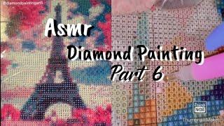 Diamond Painting TikTok Compilation Part 6 (Asmr)