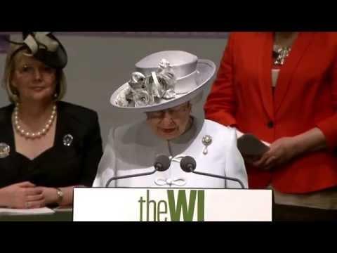 The Queen's Speech - Women's Institute Centenary Annual Meeting