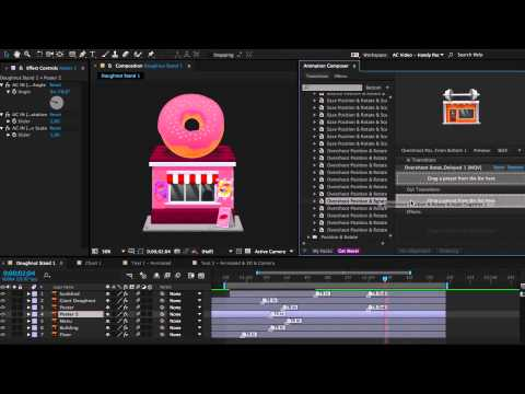 The Most Handy Presets For Animation Composer - After Effects Preset