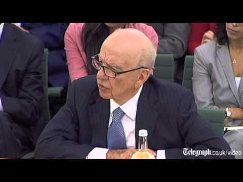 Rupert Murdoch struggles to answer questions