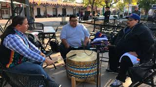 Indigenous Peoples Day Celebration 2017 - Morning Drum Song - Western Mavericks | Drum Group Clip 4