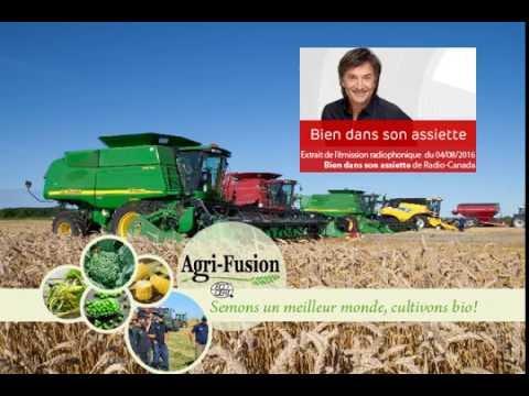 Agri Fusion - Bien dans son assiette, émission radiophonique de Radio-Canada