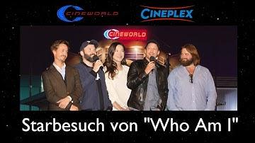Starbesuch Who Am I, CINEWORLD Mainfrankenpark, 26.09.2014