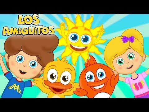Buenos Dias Cancion Infantil para bebes y ni�os   Los Amiguitos