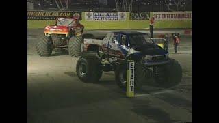 Gunslinger vs King Krunch Monster Jam World Finals Racing Semi Finals 2000