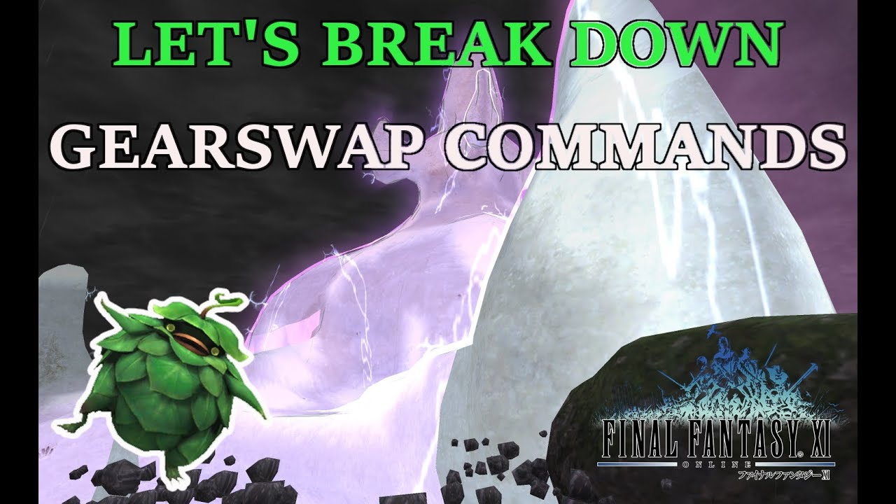 FFXI - A Guide on using Gearswap Commands to make multi-boxing easier