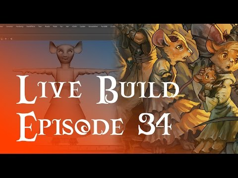 Live Build 34 - New Character Modelling