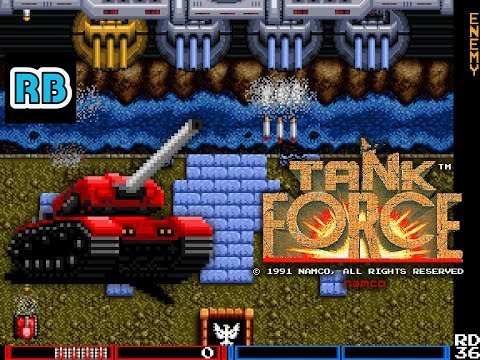 1991 [60fps] Tank Force 978700pts ALL