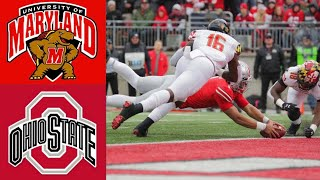 Maryland Vs #1 Ohio State Highlights | Ncaaf Week 11 | College Football Highlights