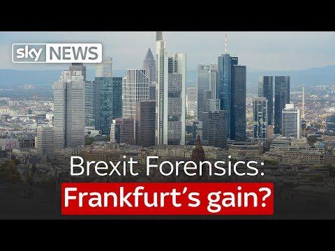 Brexit Forensics: Frankfurt's gain?