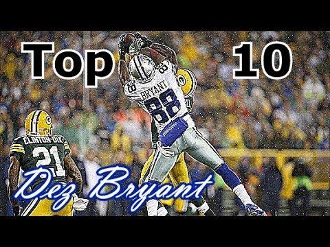 Dez Bryant Top 10 Plays of Career